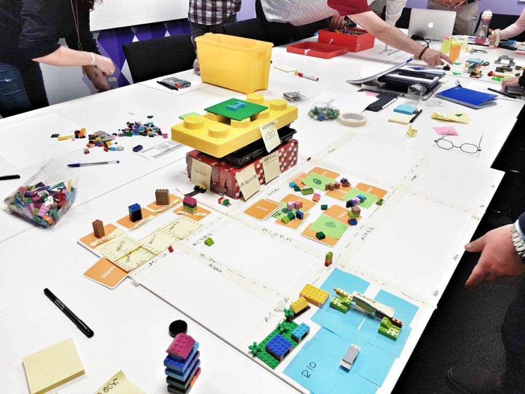 Lego4Scrum. Quiero mi ciudad yaaaaa
