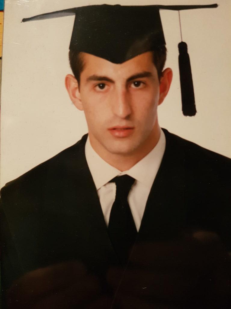 Graduación Antonio Palomares Fernández